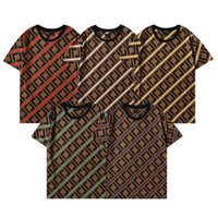 2021SS Moda Fashion Designer Camiseta Hip Hop Branco Mens Roupas Casuais Tees Para Homens Com Letras Impresso Tshirt Size S-3XL FF