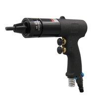 Outils électriques M8 M10 Nu noix pneumatique Riveter pour l'aluminium et les écrous de fer Noix de fabrication pistolet à l'air pour fixer diverses plaques métalliques, tuyaux, armoires, châssis
