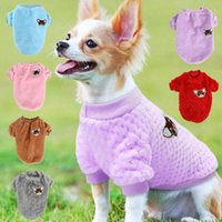 Dog Apparel Cute Pet Clothes Soft Puppy Kitten Coats For Small Medium Dogs Cats Warm Winter Cat Jacket Clothing Chihuahua S-2XL