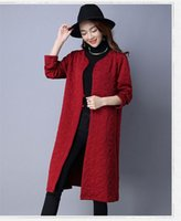 Women's Trench Coats Boollili Vintage Chinese Style Wine Red Windbreaker Women Coat Para As Mulheres Female Spring Autumn