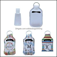 Packing Office School Business & Industrialneoprene Sanitizer Lipstick Holder Keychain Bags 30Ml Per Hand Washing Fluid Bottle White For Sub