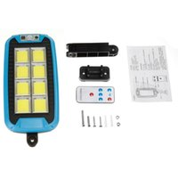 Solar Lamps 1500W LED Ultra Bright Lights Outdoor Security Light Wall Lamp IP67 Waterproof PIR Motion Sensor Smart Remote Control