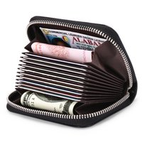 wallet Card Holder men and girl beautiful purse solid color designer retro folding long classic short clip PU material