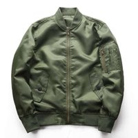 Spring and autumn stand collar air force No.1 MA-1 pilot men's jacket