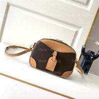 DEUVILLE MINI CROSS Body Bag Damier Azur N50048 M45528 Очаровательны Сумка для камеры Ретро Шикальная Маленькая Сумка Легкая Сумка Luxurys Сумки