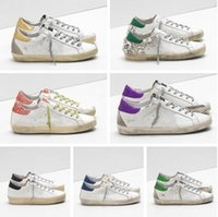 Italienische Marke Sneakers Goldener Ball Star Classic White Distressed Dirty Schuhe Gans Designer Superstar Männer und Frauen Casual Schuhe G33MS590 PL
