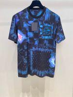 2021 여름 최신 패션 망 새로운 아름다운 티셔츠 ~ 미국 크기 티셔츠 ~ 탑스 망 디자이너 짧은 소매 티셔츠