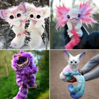 35cm Elf Creature Cheshire Cat Toys Stuffed Animals Baby Plush Doll Toy Legend Elf-Creature Sensory Fideget Touching Decompression Dolls Party Gifts