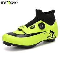 Radfahrenschuhe Schuhe MTB Sneaker Männliche flache Stollen Rennrad Männer Triathlon Winter Fahrrad Reiten Berg
