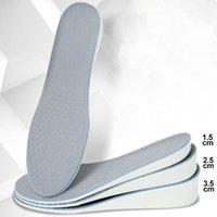 Ayakkabı aksesuarları Yükseklik 1.5 / 2.5 / 3.5 cm up için ekstraksiyonlar artırılabilir Arch Desteği Ortopedik Şok Emilimi EVA Malzemesi