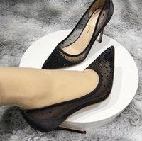 Mulheres Sapatos de Salto Alto Sapatos Pontos de Veludo Bombas de Veludo Stiletto Saltos Deerskin Raso Sapato de Casamento Único Altura 10 cm 8cm 12cm grande tamanho pequeno Euro34-45