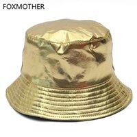 КЛОЧЕТЫ Foxmother Gold Щепка Блестящая металлическая Бенситат Fishman Hat Fishing Caps Bob Женщины Мужская вечеринка