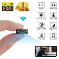 Mini Kameralar HD 4 K 1080 P Kamera Wifi XD Akıllı Kablosuz Kamera IP Küçük Spor Mikro Döngü Kayıt Uzaktan Kayıt