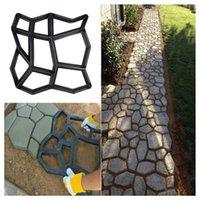 정원 장식 포장 금형 DIY 경로 수동 포장 시멘트 벽돌 도구 스테핑 돌 블록 건물 제조 업체
