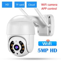 Outdoor IP Camera Original AI Human Detection Audio 5MP Wireless Security CCTV 4X Digital Zoom Wifi Cameras