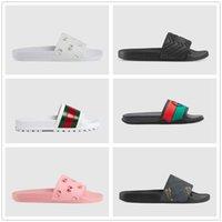 고품질 여성 슬리퍼 여름 고무 샌들 비치 슬라이드 패션 스 컬러 슬리퍼 실내 신발 크기 EUR 35-41 상자 home011 02