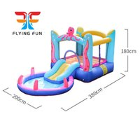 Octopus Bounce House with Built-In Water Sprayer Garden Supplie Inflatable Bouncer Jumper Slide Octopuss Themed Indoor Outdoor Park w  Pool Kids Party Play Fun Yard