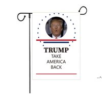 30*45cm Trump 2024 Campaign Garden Flag Decoration Banner 7 Styles Free Delivery NHE8504