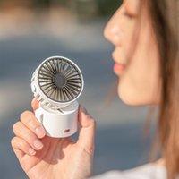 2021 Yeni Ürün F852 Değişken Küçük Fan Işık Mini Boyun Hung Bel 45 Yukarı ve Aşağı Hava Kaynağı Olabilir