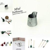 1/12 규모의 깡통 깡통 수용 캔 정원 풍경 장면 모델 키즈 가구 장난감 DIY 액세서리 가든 도구 1584 Y2