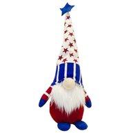 Patriotische Gnome Geschenke Independence Day Urlaub Dekoration Handgemachte skandinavische Tomte Elf Zwerg Gnomes Plüsch Puppe EEB6084