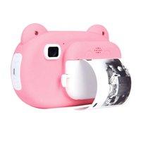 المحمولة 2.4 بوصة شاشة الأطفال الفورية طباعة الكاميرا 16 جيجابايت الرقمية po selfie 1080P FHD فيديو طابعات الطباعة الحرارية الحرارية
