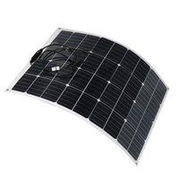 100 W 18 V son derece esnek monokristalin güneş paneli karo mono su geçirmez
