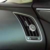 Car Air Freshener Stainless Steel Delicate Clip Decoration Vent Diffuser For Men Gift