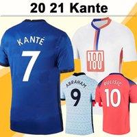 20 21 Kante Giroud Erkek Futbol Formaları Pulisik Kovacic Ziyech Ev Uzakta 3rd Futbol Gömlek Yeni Lampard Jorginho Kısa Kollu Yetişkin Üniformaları