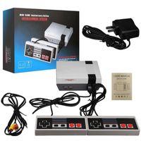 Video El Oyuncu Mini Oyun Konsolu 620 Oyunlar AV Çıkış Çift Oyuncu Kontrol Cihazı ile Perakende Paket Kutusu Fabrika Kalitesi