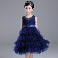 Latest Flower Girl Dresses with Princess Communion Party Pageant Dress for Wedding Little Girls Kids Child Birthday