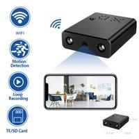1080 P Mini Kamera WIFI XD Akıllı Kablosuz IP Küçük Mikro Kamera Spor Gizli Kam Döngü Kayıt Uzaktan Monitör