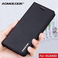 Huawei P30 Lite Edition P20 P10 P9 P8 2021 جلد فليب غطاء القضية ل p40 e برو زائد حالات الظهر حامل الهاتف الخليوي