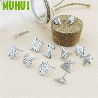 Kpop EXO 12 Members Earrings For Women LUHAN LAY CHANYEOL,KAI,SEHUN Earring Men Jewelry Gift 18430 Stud