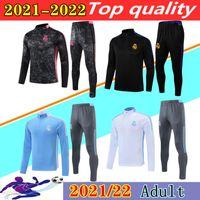 2021 2022 Survêtement Real Madrid Survêtement Survêtement Survêtement 21 22 Hazard Benzema Modric Commissata de Futbol Chandal Football Jogging