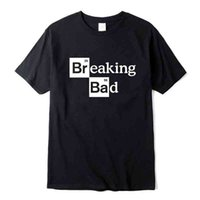 T Shirt Xin Yi Hombre de alta calidad100% algodón O Cuello Heisenberg Manga corta Casual Rompiendo la camisa de impresión mala para los hombres