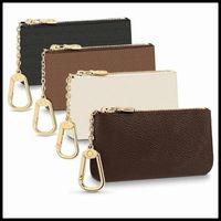 Anahtar Kılıfı M62650 Pochette Cles Tasarımcılar Luxurys Moda Bayan Erkek Anahtarlık Kredi Kartı Tutucu Sikke Çanta Lüks Mini Cüzdan Çanta Deri Çanta
