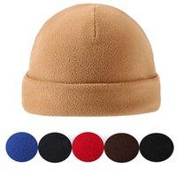 Beanies Winter Warm Windproof Bonnet Cuffed Skullcap Military Tactical Cap Fleece Hats Hiking Caps Ski Baggy Hat