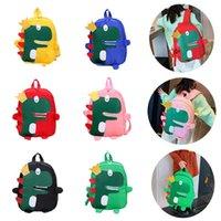 أزياء أطفال حقيبة الأطفال الديناصور حقيبة مدرسية الفتيات لطيف الكرتون حقيبة ماء المزدوج حقائب الكتف
