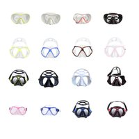 Diving Masks Portable Anti-Fog UV Goggles Mask Women Men Adults Underwater Waterproof Glasses Swimming Safety Snorkeling Equipment