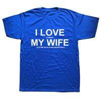 T-shirts T-shirts wanneer mijn vrouw me laat spelen basketbal grappige unisex grafische mode katoenen korte mouw t-shirts O-hals Harajuku T-shirt