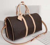 """GG """"Lv"""" Louis ... Vitton YSL ... Vutton Designer Designer uomini di lusso da donna borsa da viaggio borse borsone borse in pelle borse per bagagli di grandi dimensioni Borse sportive 56 cm"""