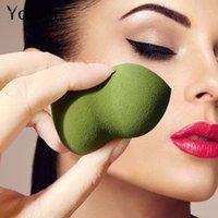 Yogicier 4 Renkler Vakfı Kozmetik Puf Kabak Makyaj Cilt Bakımı Yumuşak Kabarık Toz Pürüzsüz Yüz Burun Sünger Güzellik Araçları 1 adet1