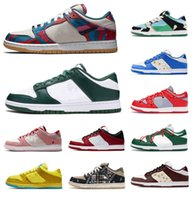 Hombres para mujer SB Zapatos Parra x FTC Universidad Syracuse Varsity Green Dunk Dunks Low Lows Unc Costa Chunky Dunky Kentucky Michigan Deslv Trainers Sneakers Shoe 36-45