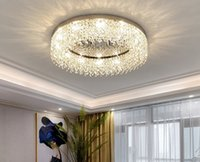 Nordic Led Ceiling Lights Chandeliers For Kids Bedroom Kitchen Dining Crystal Hanging Decor Living Room Lighting Fixtures plafondlamp