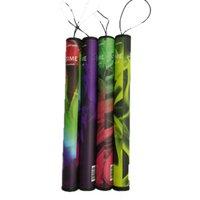 Shisha Tempo descartável Vape Eletrônico Cigarro Cigarro 20pcs / Pack com tubo de plástico Pré-enchido Shi Sha Kit de vaporizador 40 Cores