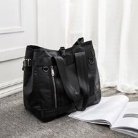 Duffel Bags Porter Unisex Casual Nylon Travel Tote Bag Men Large Capacity Handbags Male Female Shoulder For Women