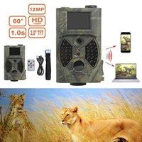 Câmaras de caça HC-300A HD 1080P 12MP Camera Video Scouting Night Vision LEDs Fruitação Vida Selvagem Animal De Animal