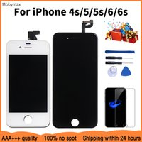No Dead Pixel for iPhone 5s 5 LCD Display LCD Module With Touch Screen Digitizer Assembly Replacement for iPhone 6S 6 4s