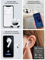 Real Noise Conduction Chip Wireless Earphones Charging LZ-10 Bluetooth Headphones Earphone Headphone pk i2 tws Xiaomi Earbuds for iPhone 12 11 Pro cell phone